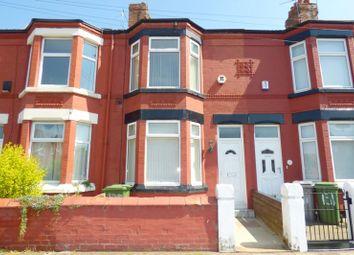 Thumbnail 3 bed terraced house to rent in Livingstone Street, Birkenhead