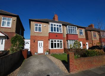Thumbnail 3 bedroom semi-detached house for sale in Fernwood Avenue, Gosforth, Newcastle Upon Tyne