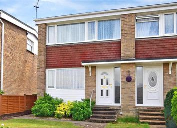 Thumbnail 2 bed semi-detached house for sale in Perowne Way, Sandown, Isle Of Wight