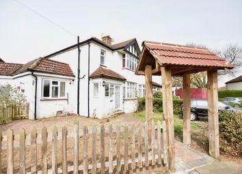 Thumbnail 4 bedroom property to rent in Hamilton Avenue, Tolworth, Surbiton