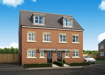 "Thumbnail 3 bed property for sale in ""The Bamburgh At Queens Way, Doncaster"" at Redland Crescent, Thorne, Doncaster"