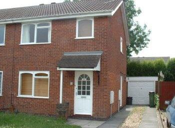 Thumbnail 3 bed terraced house to rent in Hunters Way, Leicester Forest East