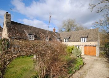 Thumbnail 4 bed cottage for sale in Rack End, Standlake, Witney