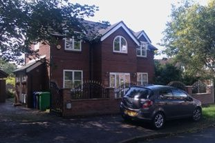 Thumbnail 4 bed detached house to rent in Mosswood Park, Didsbury