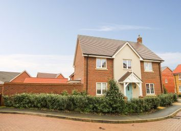 Thumbnail 4 bed detached house for sale in Upholland Close, Monksmoor, Daventry