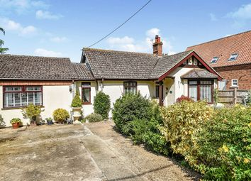 Thumbnail 3 bed detached bungalow for sale in The Broadway, Heacham, King's Lynn