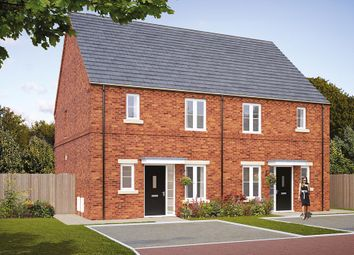 "Thumbnail 3 bedroom town house for sale in ""The Hamilton"" at Pastures Road, Mexborough"