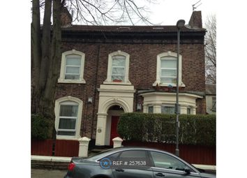 Thumbnail 1 bed flat to rent in Fairfield, Liverpool