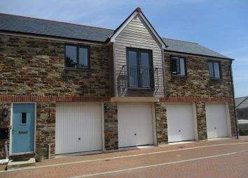 Thumbnail 2 bed flat for sale in Charlestown Road, St. Austell