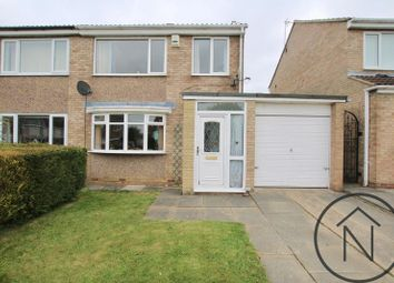 Thumbnail 3 bed semi-detached house for sale in Lascelles Avenue, Newton Aycliffe