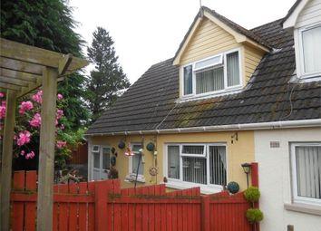 Thumbnail 3 bed semi-detached bungalow for sale in Heol Y Dderi, Glanduar, Llanybydder