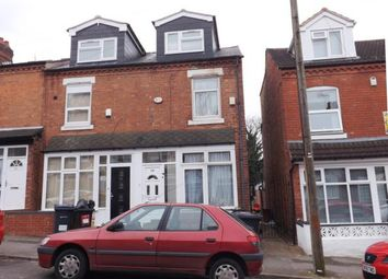 Thumbnail 4 bedroom end terrace house for sale in Teignmouth Road, Selly Oak, Birmingham, West Midlands