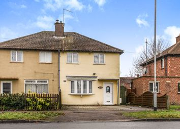 Thumbnail 3 bed semi-detached house for sale in Fishers Lane, Cherry Hinton, Cambridge