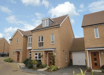 Thumbnail 4 bed semi-detached house for sale in Royal Architects Road, East Cowes