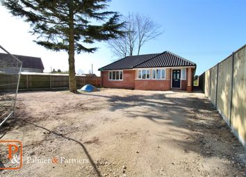 Thumbnail 3 bed detached bungalow for sale in Main Road, Lower Hacheston, Woodbridge