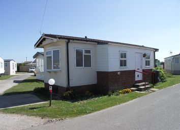 Thumbnail 1 bedroom mobile/park home for sale in Walcott Park, Coast Road, Norwich