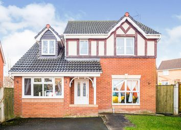 Thumbnail 4 bed detached house for sale in Cae Gwynn Close, Morda, Oswestry, Shropshire
