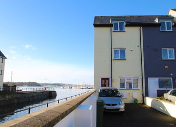 Thumbnail 3 bedroom end terrace house for sale in Telegraph Wharf, Stonehouse, Plymouth