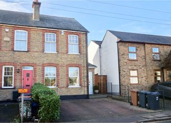 Thumbnail 3 bed end terrace house for sale in West Road, Sawbridgeworth