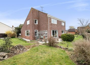 Thumbnail 4 bed detached house for sale in Martins Road, Keevil, Trowbridge