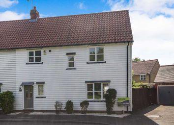 Thumbnail 3 bed semi-detached house for sale in Hazel Close, Laindon, Basildon