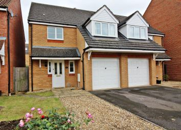 Thumbnail Semi-detached house for sale in Gibson Drive, Leighton Buzzard
