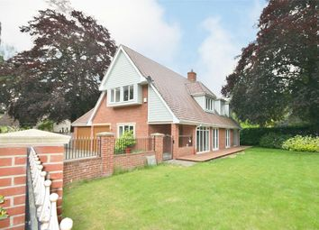 Thumbnail 4 bed detached house for sale in Wimborne Road East, Ferndown