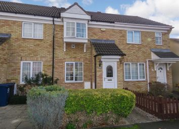 Thumbnail 2 bed terraced house for sale in Chawston Close, Eaton Socon, St. Neots