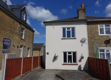 Thumbnail 3 bedroom semi-detached house to rent in Rusham Road, Egham