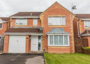 Thumbnail 4 bed detached house for sale in Paddick Drive, Lower Earley, Reading