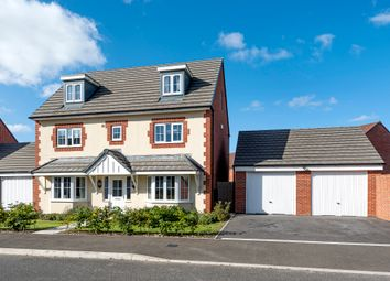 Thumbnail 5 bed detached house for sale in Lysander Crescent, Watchfield, Swindon