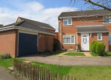 Thumbnail 2 bed semi-detached house for sale in Draycote Close, King's Lynn