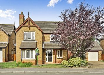 Thumbnail 4 bed detached house for sale in Middridge Road, Langley Park, Durham