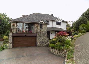 Thumbnail 4 bed detached house for sale in Coed Parc Court, Bridgend