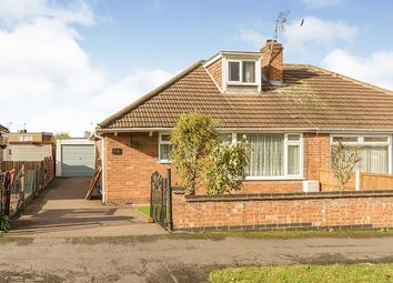 Thumbnail 2 bed bungalow for sale in Festival Avenue, Thurmaston, Leicester, Leicestershire