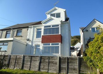 Thumbnail 3 bed semi-detached house for sale in Stradey Hill, Pwll, Llanelli