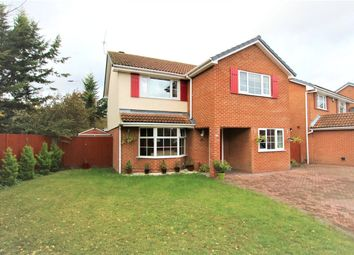 Thumbnail 4 bed detached house for sale in Mitchell Way, Woodley, Reading