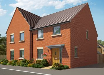 """Thumbnail 3 bedroom semi-detached house for sale in """"The Cheveley"""" at Heron Road, Northstowe, Cambridge"""