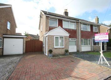 Thumbnail 3 bedroom semi-detached house for sale in Hornby Drive, Newton, Preston, Lancashire