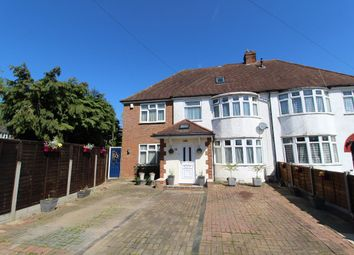 Thumbnail 4 bed semi-detached house for sale in Chantry Avenue, Kempston, Bedford