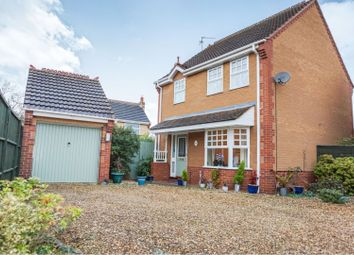 Thumbnail 3 bed detached house for sale in Petworth Close, Peterborough