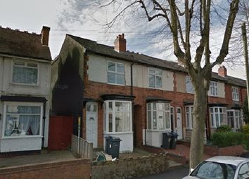 Thumbnail 3 bedroom end terrace house to rent in Refurbished Three Bedroom End Terraced, Milverton Road, Birmingham