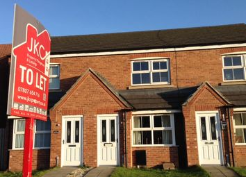 Thumbnail 2 bed terraced house to rent in Whimbrell Chase, Scunthorpe