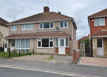 Thumbnail 3 bed semi-detached house for sale in Novers Park Road, Knowle, Bristol