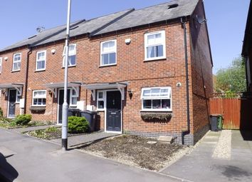 Thumbnail 3 bedroom town house to rent in Owen Street, Coalville