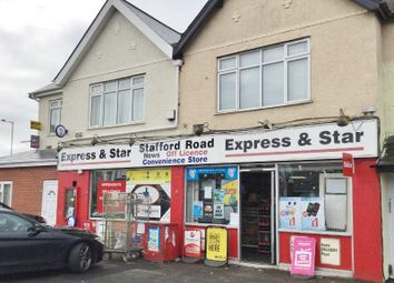 Thumbnail Retail premises for sale in 319 Stafford Road, Wolverhampton
