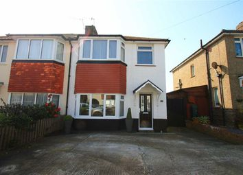 Thumbnail 3 bed semi-detached house for sale in Hythe Avenue, St Leonards-On-Sea, East Sussex