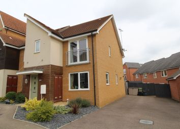 3 bed semi-detached house for sale in Kelly Gardens, Milton Keynes MK4