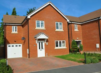 Thumbnail 4 bed detached house for sale in Meadow View, Fyfield Road, Weyhill, Andover