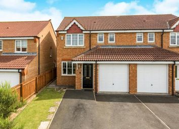 Thumbnail 3 bed semi-detached house for sale in Ellerby Mews, Thornley, Durham, County Durham